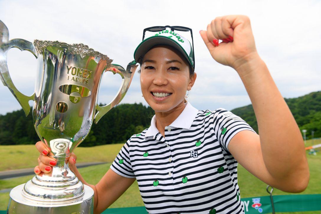 ヨネックスレディスゴルフトーナメント 最終日 上田桃子 <Photo:Atsushi Tomura/Getty Images>