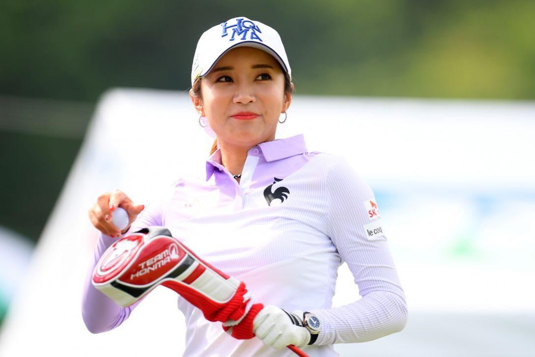 ヨネックスレディスゴルフトーナメント 最終日 イボミ <Photo:Atsushi Tomura/Getty Images>