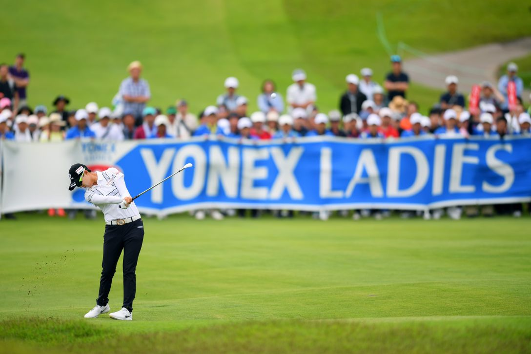 ヨネックスレディスゴルフトーナメント 最終日 キムヒョージュ <Photo:Atsushi Tomura/Getty Images>