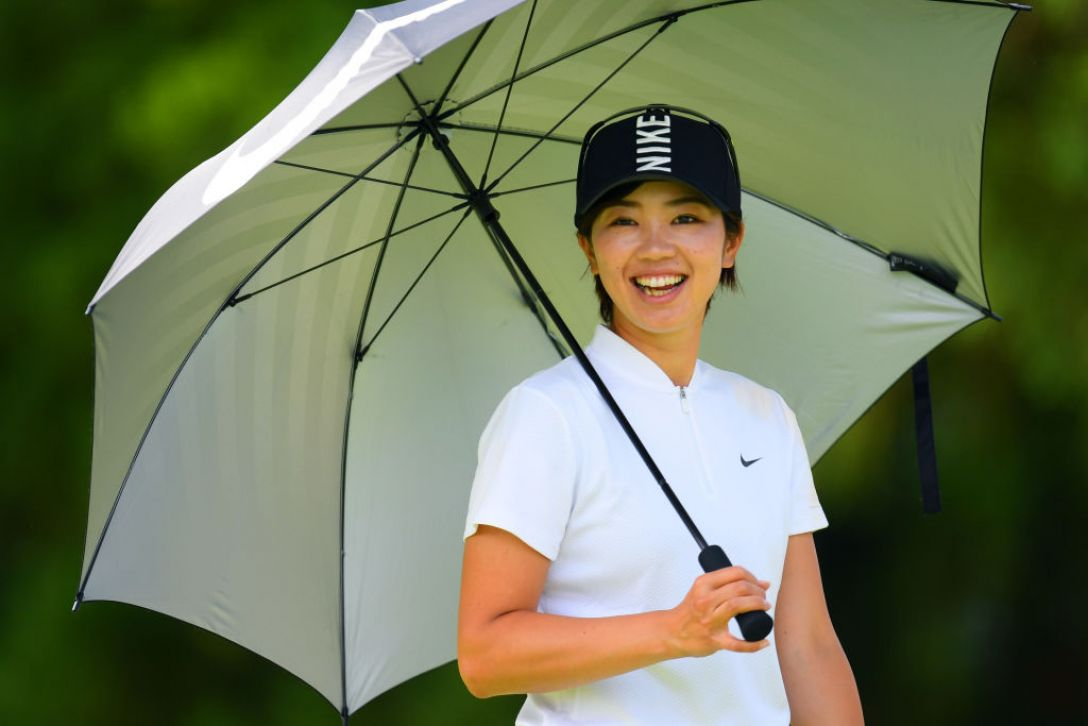 宮里藍 サントリーレディスオープンゴルフトーナメント 第2日 葭葉 ルミ <Photo:Atsushi Tomura/Getty Images>