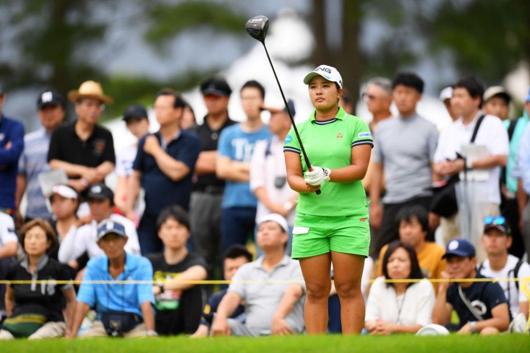宮里藍 サントリーレディスオープンゴルフトーナメント 第2日 鈴木 愛 <Photo:Atsushi Tomura/Getty Images>