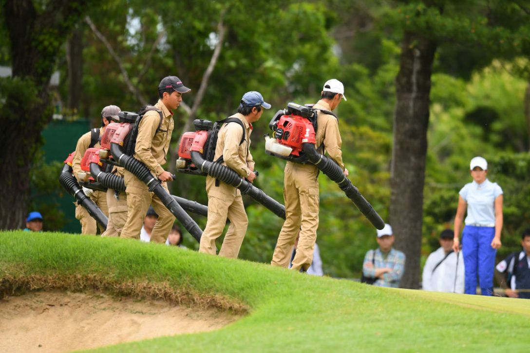 宮里藍 サントリーレディスオープンゴルフトーナメント 第3日 <Photo:Atsushi Tomura/Getty Images>