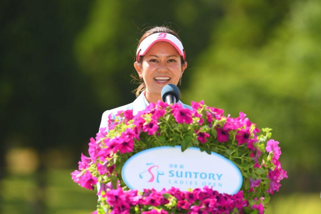 宮里藍 サントリーレディスオープンゴルフトーナメント 最終日 宮里藍 <Photo:Atsushi Tomura/Getty Images>