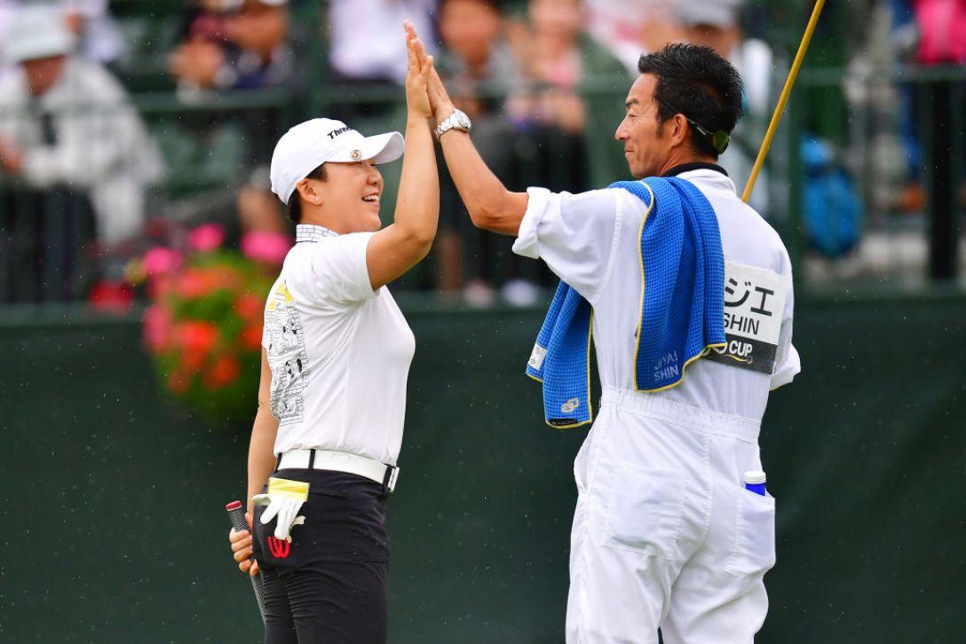 アース・モンダミンカップ 最終日 申ジエ <Photo:Atushi Tomura/Getty Images>