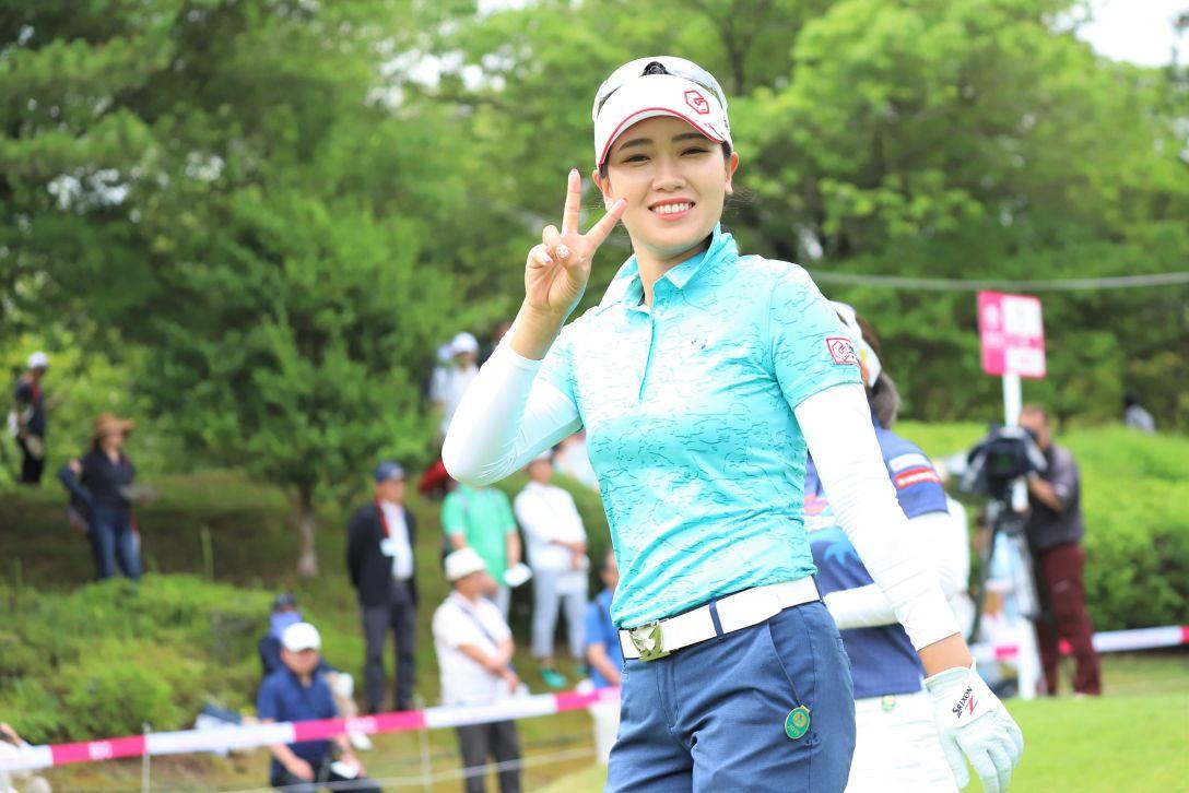 ECCレディス ゴルフトーナメント 第2日 キムチャンミ