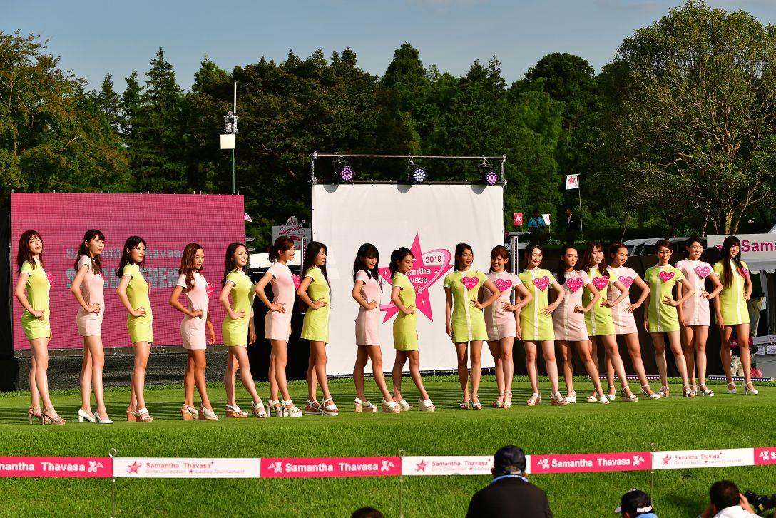 サマンサタバサ ガールズコレクション・レディーストーナメント 第1日<Photo:Atsushi Tomura/Getty Images>
