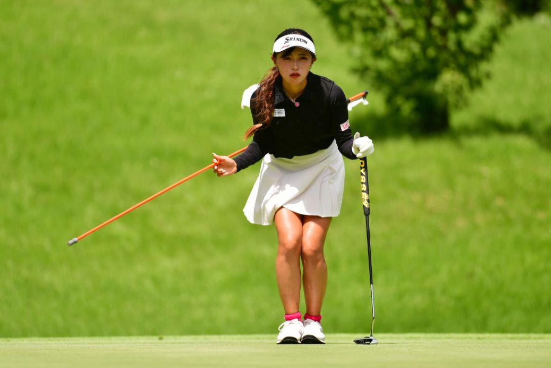センチュリー21レディスゴルフトーナメント 第2日 臼井麗香 <Photo:Atsushi Tomura/Getty Images>