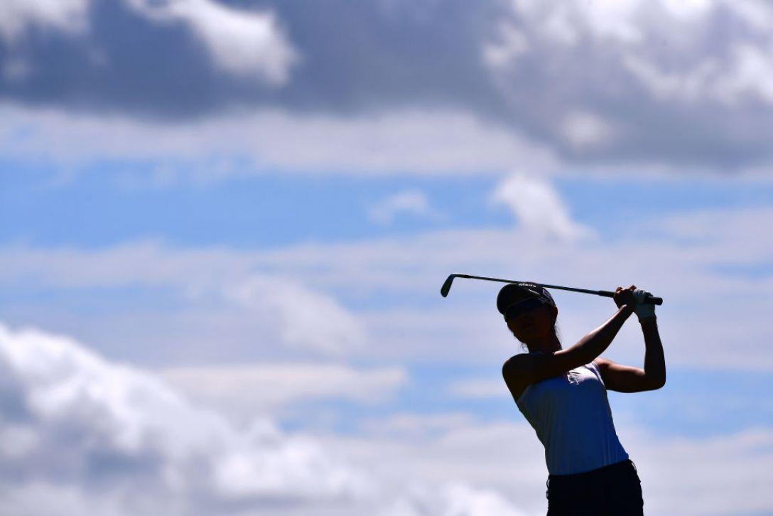 センチュリー21レディスゴルフトーナメント 第2日 松森彩夏 <Photo:Atsushi Tomura/Getty Images>