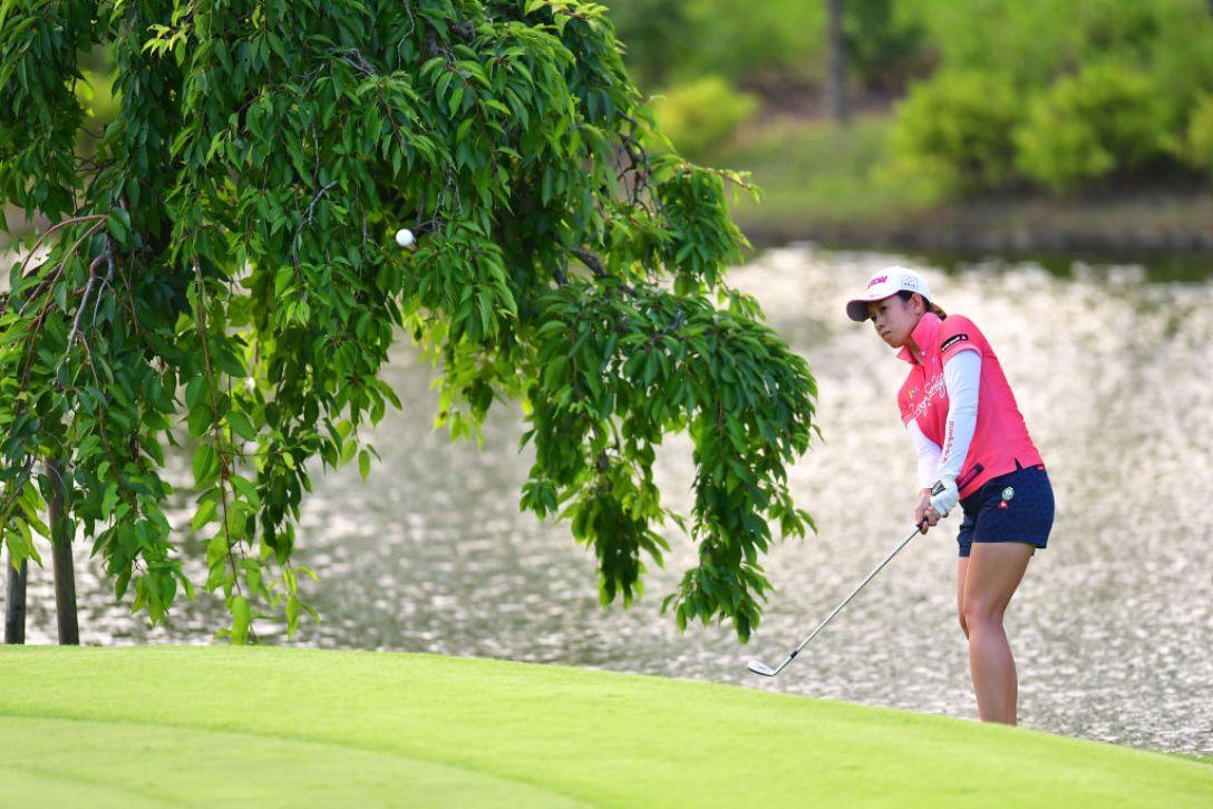 センチュリー21レディスゴルフトーナメント 第2日 小橋絵利子 <Photo:Atsushi Tomura/Getty Images>
