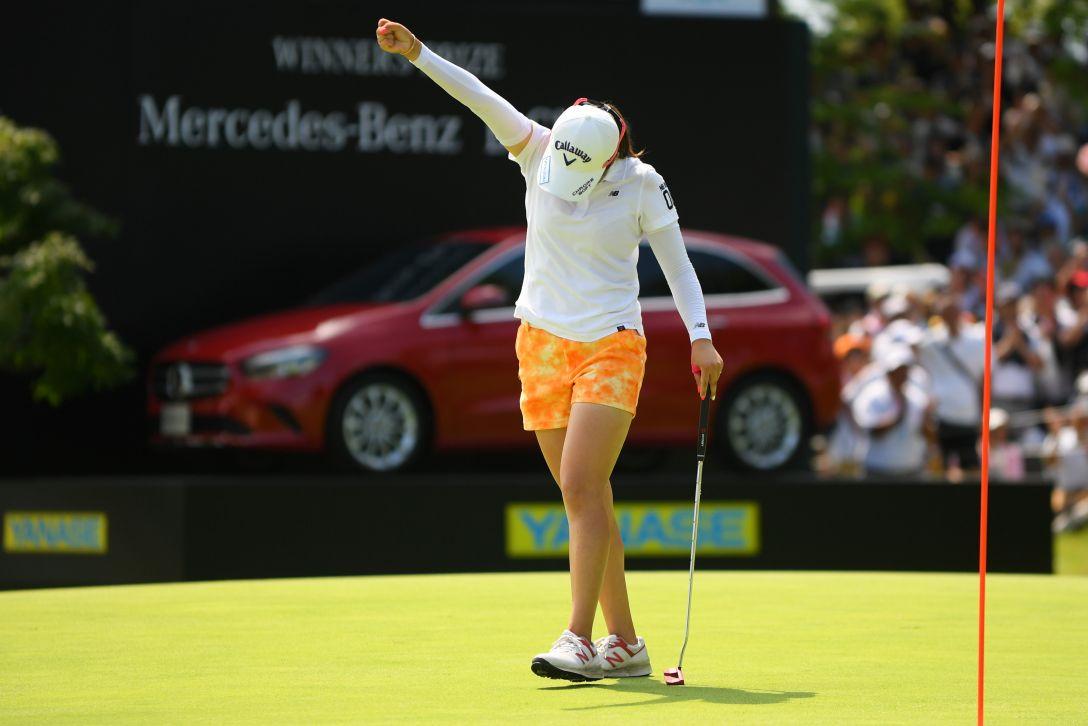 センチュリー21レディスゴルフトーナメント 最終日 稲見萌寧 <Photo:Atsushi Tomura/Getty Images>