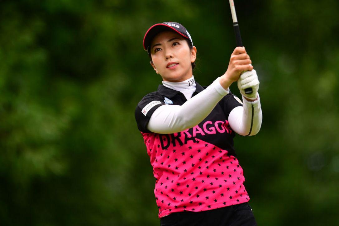 センチュリー21レディスゴルフトーナメント 最終日 笠りつ子 <Photo:Atsushi Tomura/Getty Images>