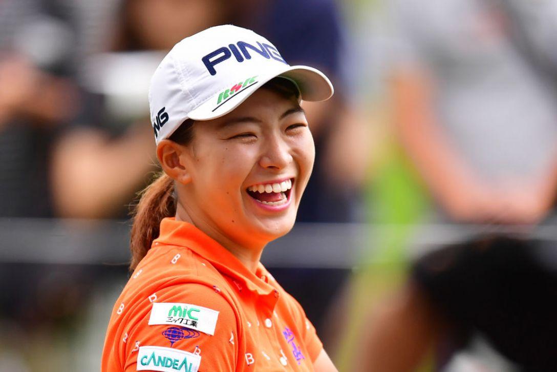 NEC軽井沢72ゴルフトーナメント 第1日 渋野日向子 <Photo:Atsushi tomura/Getty Images>