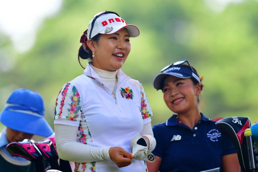 NEC軽井沢72ゴルフトーナメント 第2日 黄アルム 青木 瀬令奈 <Photo:Atsushi Tomura/Getty Images>