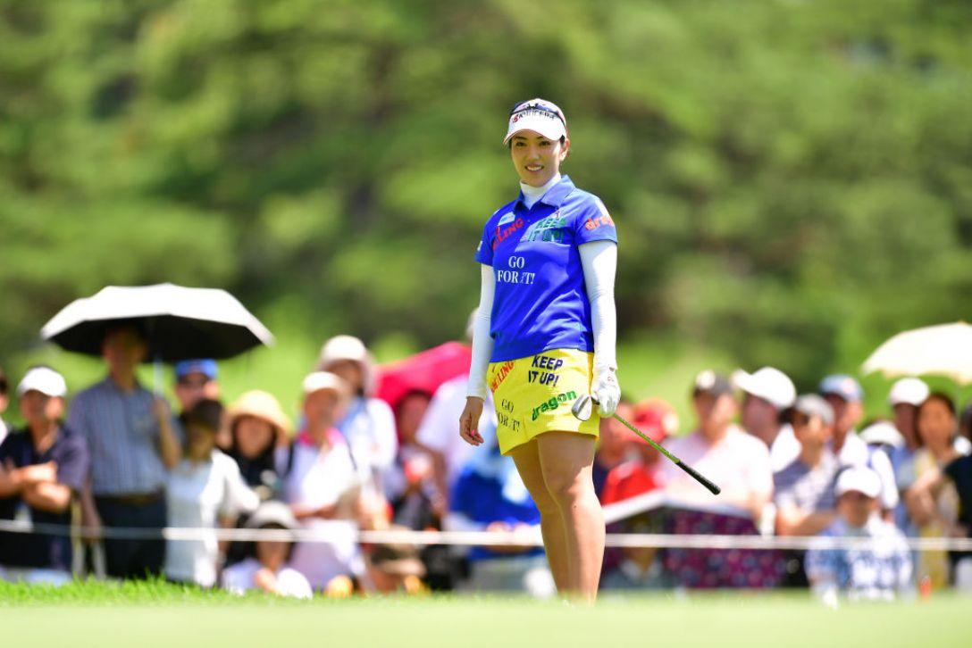 NEC軽井沢72ゴルフトーナメント 第2日 笠りつ子 <Photo:Atsushi Tomura/Getty Images>
