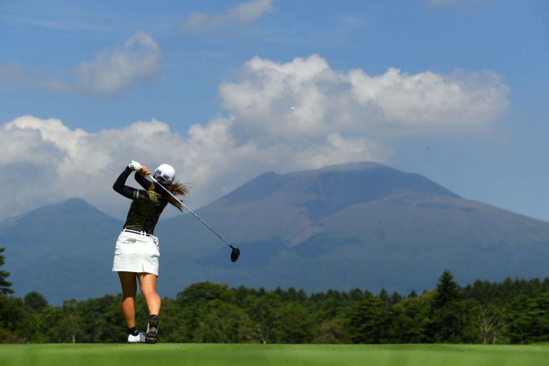 NEC軽井沢72ゴルフトーナメント 第2日 菊地絵理香 <Photo:Atsushi Tomura/Getty Images>