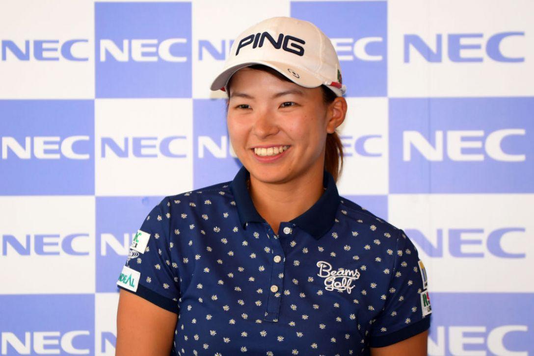 NEC軽井沢72ゴルフトーナメント 第2日 渋野 日向子<Photo:Atsushi tomura/Getty Images>