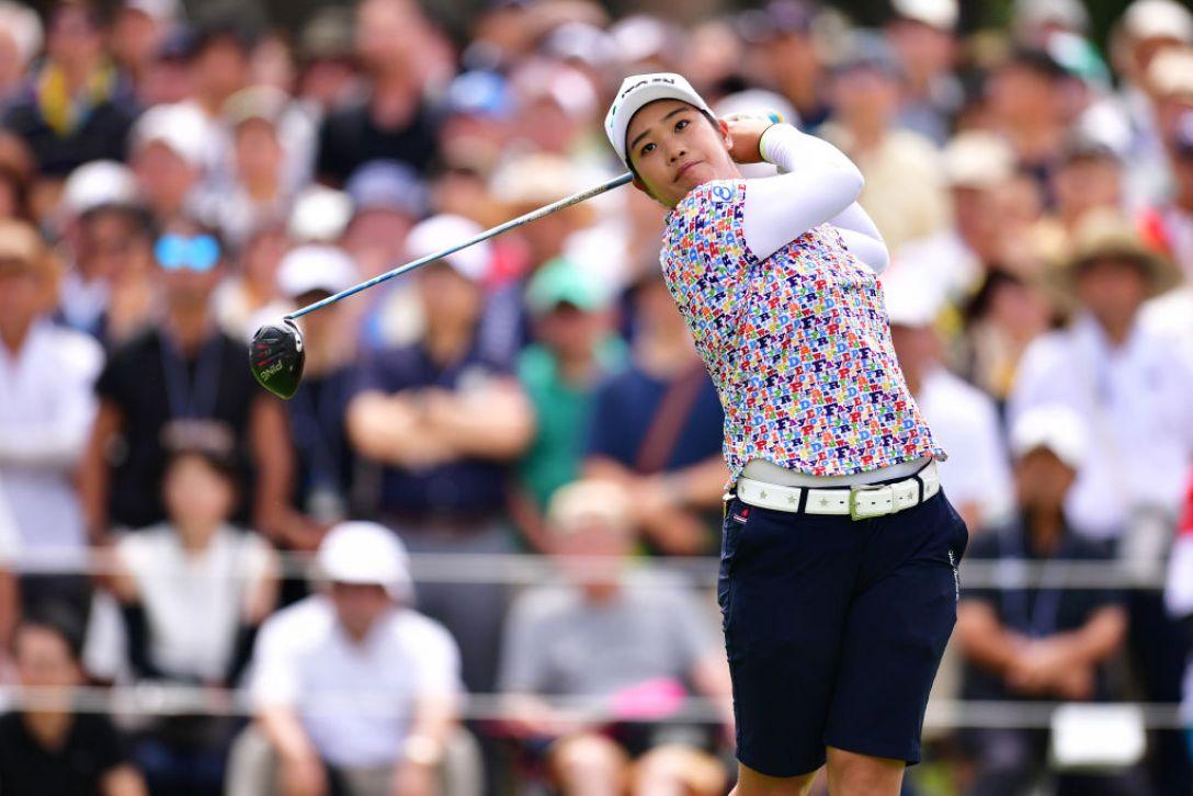 NEC軽井沢72ゴルフトーナメント 最終日 濱田茉優 <Photo:Atsushi Tomura/Getty Images>