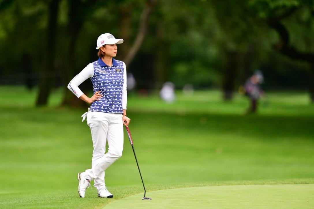ニトリレディスゴルフトーナメント 第1日 原江里菜 <Photo:Atsushi Tomura/Getty Images>