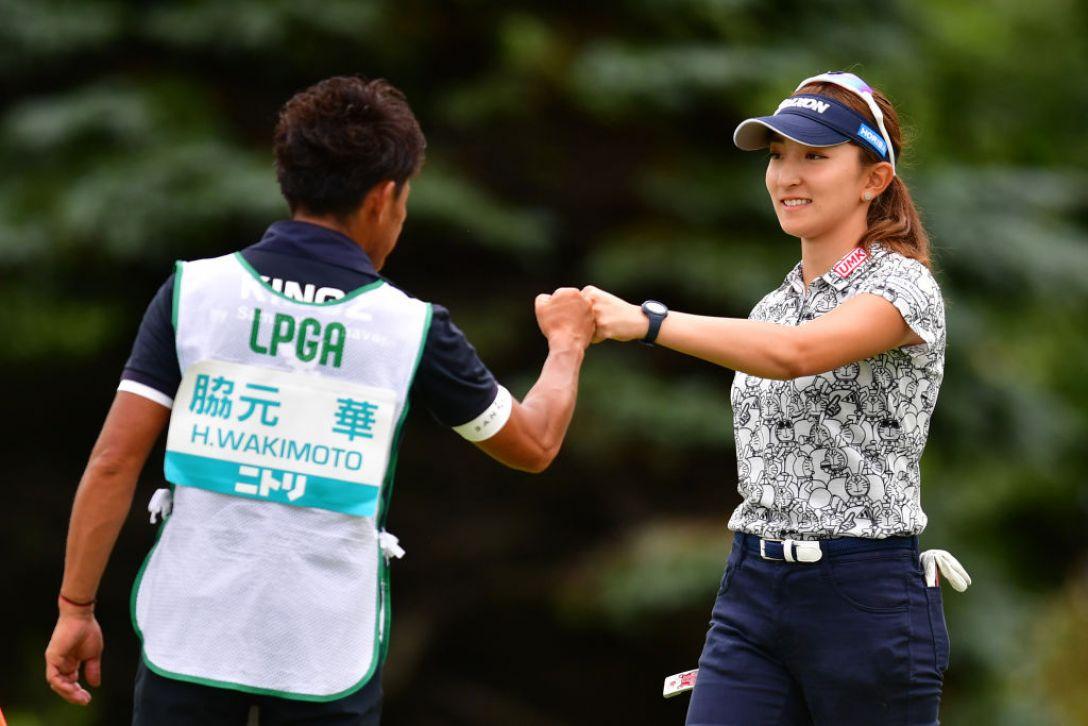 ニトリレディスゴルフトーナメント 第1日 脇元華 <Photo:Atsushi Tomura/Getty Images>