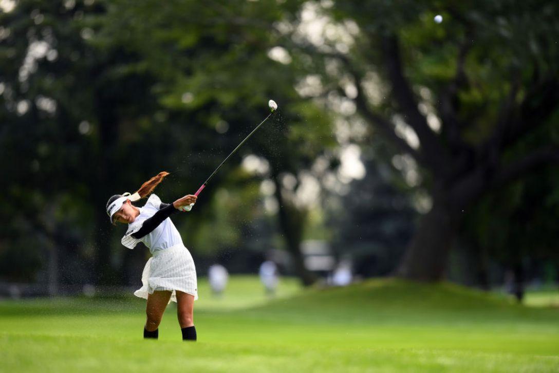 ニトリレディスゴルフトーナメント 第2日 臼井麗香<Photo:Atsushi tomura/Getty Images>