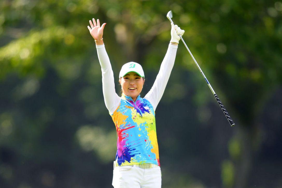 ニトリレディスゴルフトーナメント 第2日 高橋彩華 <Photo:Atsushi Tomura/Getty Images>