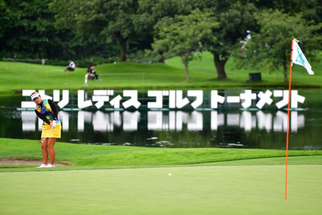 ニトリレディスゴルフトーナメント 第2日 ささきしょうこ<Photo:Atsushi tomura/Getty Images>