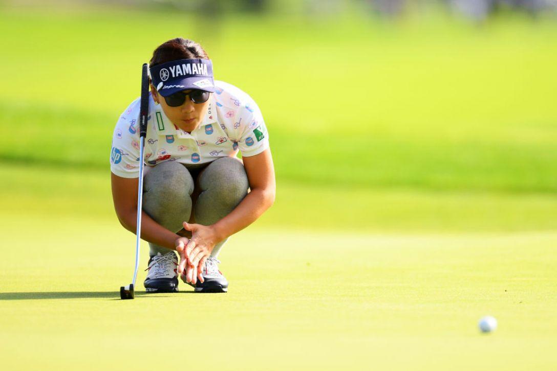 ニトリレディスゴルフトーナメント 第2日 有村智恵<Photo:Atsushi tomura/Getty Images>