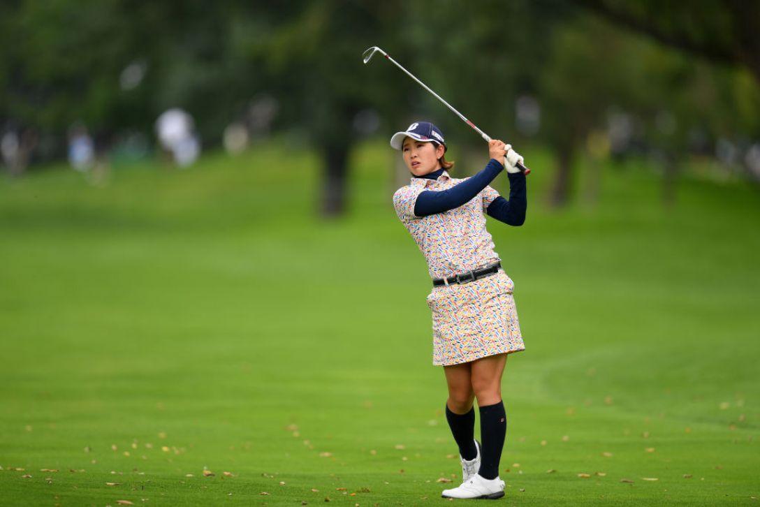ニトリレディスゴルフトーナメント 第3日 蛭田 みな美<Photo:Atsushi tomura/Getty Images>