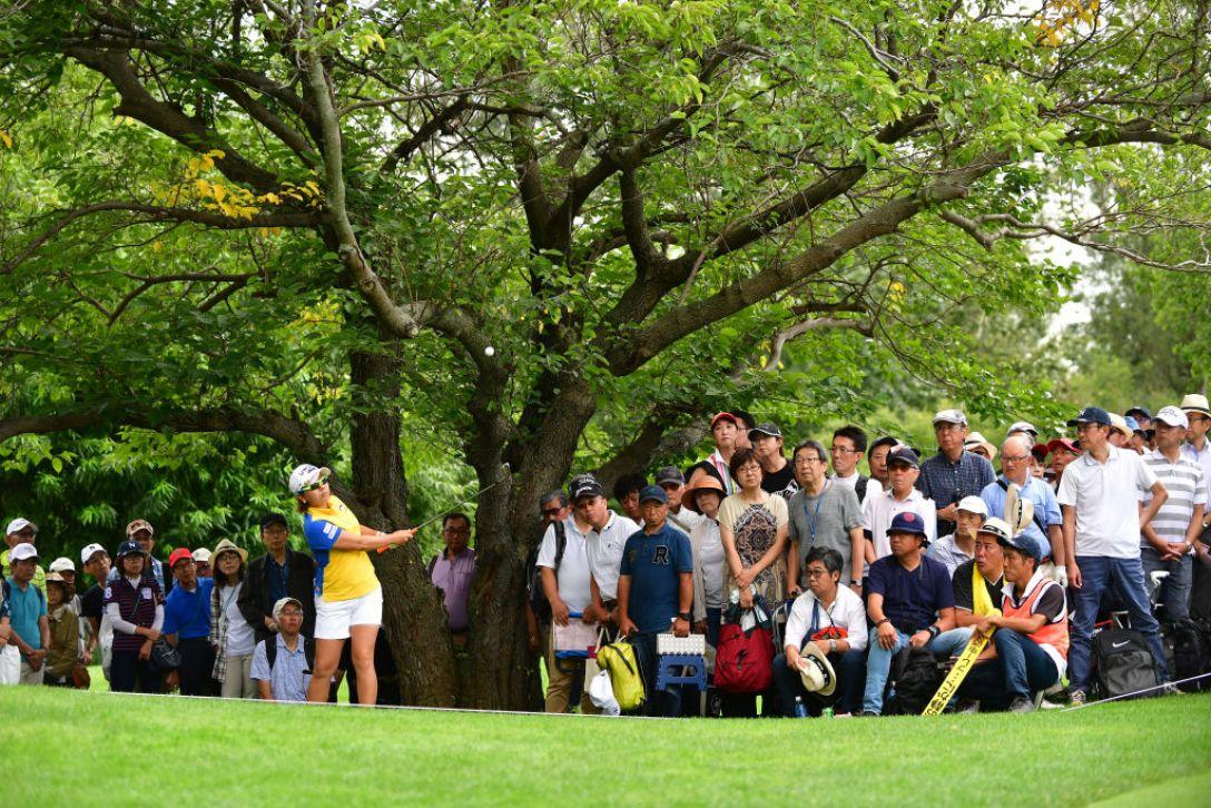 ニトリレディスゴルフトーナメント 第3日 宮里美香 <Photo:Atsushi Tomura/Getty Images>