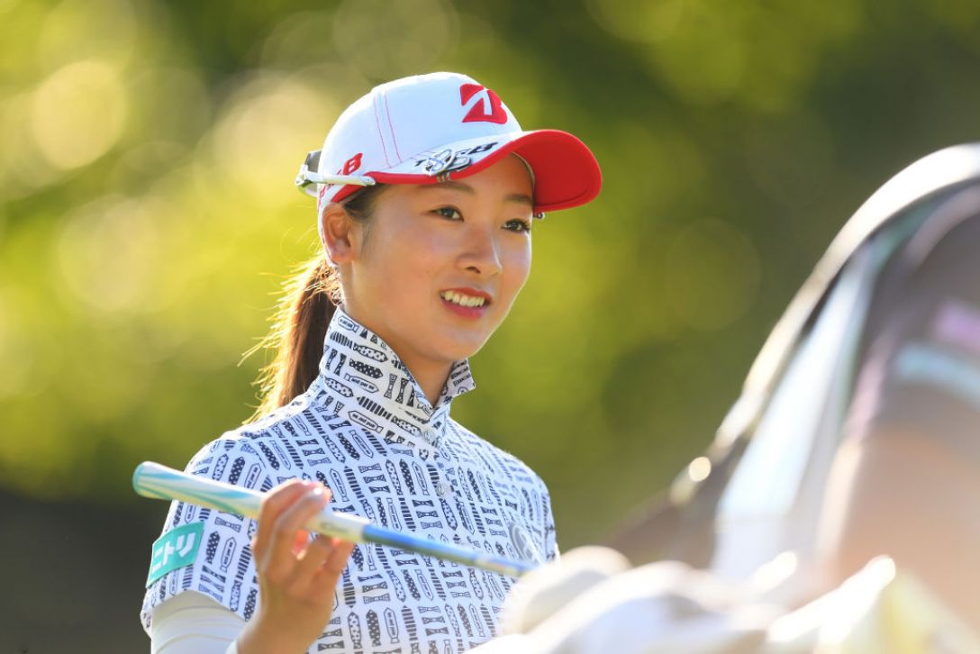 ニトリレディスゴルフトーナメント 第3日 松田鈴英 <Photo:Atsushi Tomura/Getty Images>