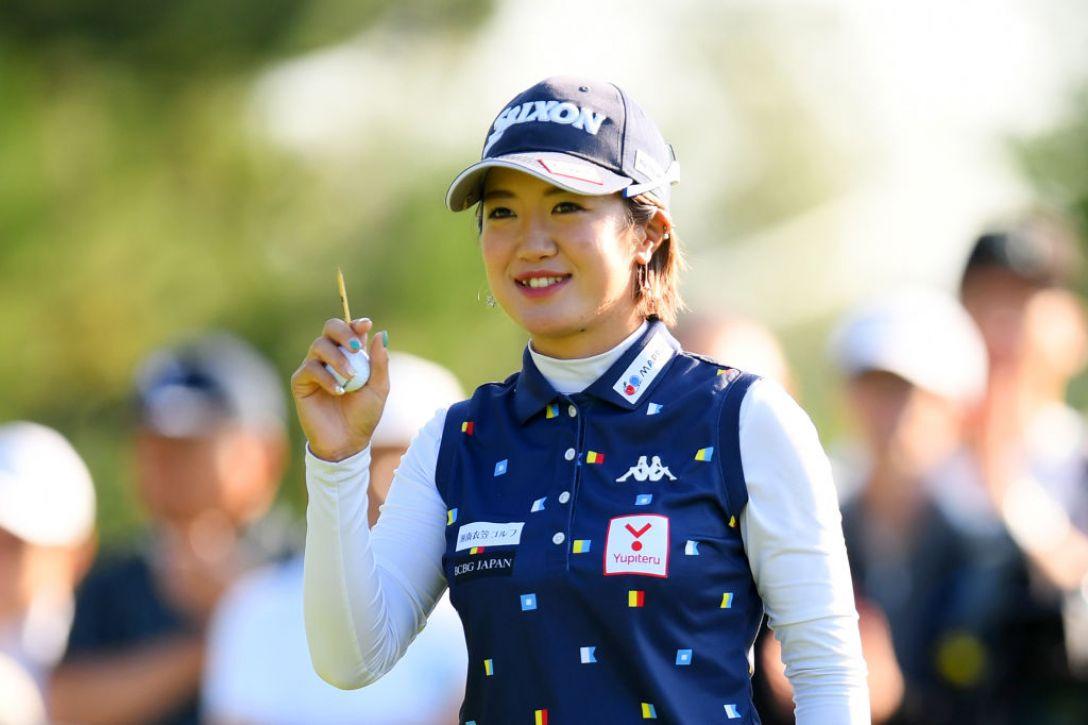 ニトリレディスゴルフトーナメント 第3日 林菜乃子 <Photo:Atsushi Tomura/Getty Images>