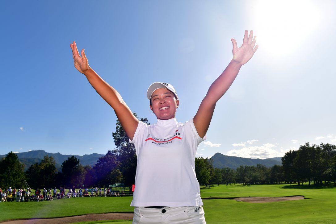 ニトリレディスゴルフトーナメント 最終日 鈴木愛 <Photo:Atsushi Tomura/Getty Images>