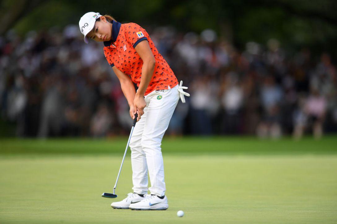 ニトリレディスゴルフトーナメント 最終日 渋野日向子 <Photo:Atsushi Tomura/Getty Images>