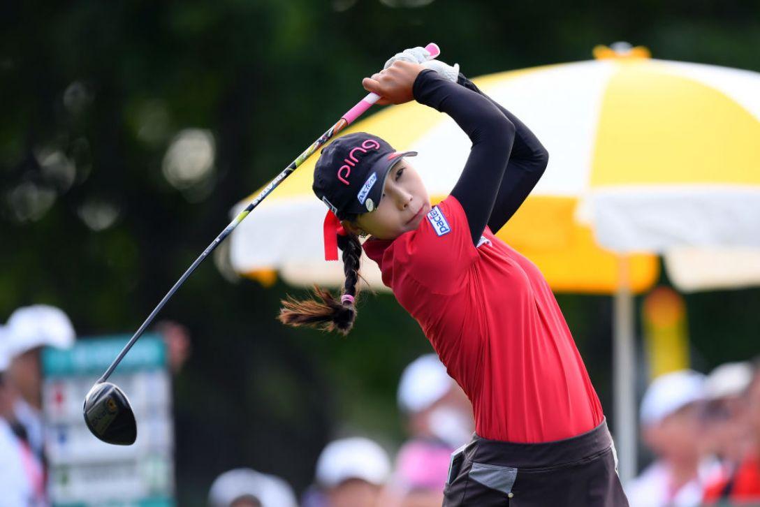 ニトリレディスゴルフトーナメント 最終日 常 文恵<Photo:Atsushi tomura/Getty Images>