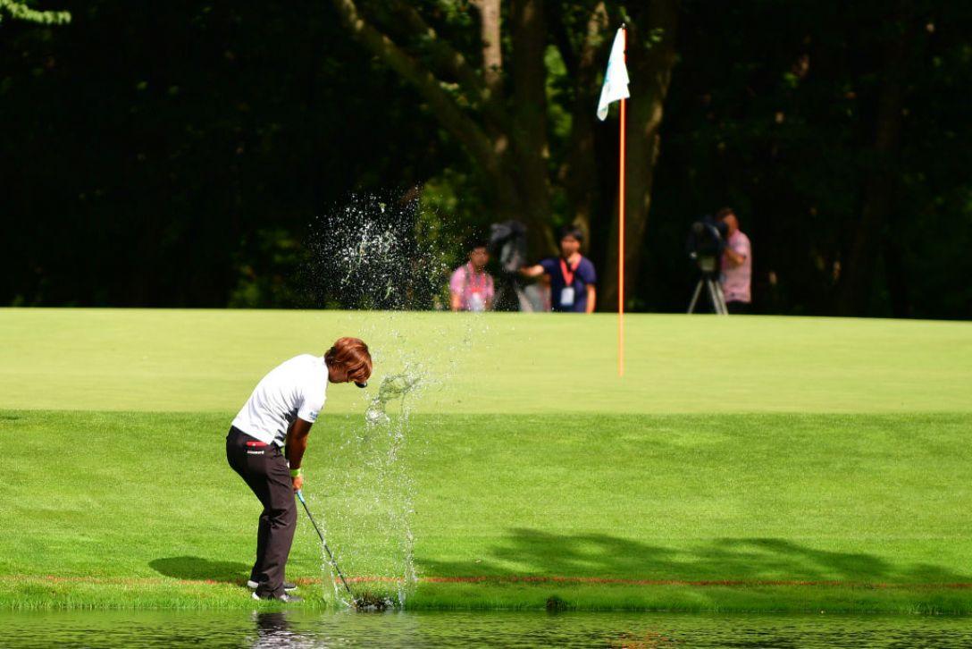 ニトリレディスゴルフトーナメント 最終日 穴井詩 <Photo:Atsushi Tomura/Getty Images>