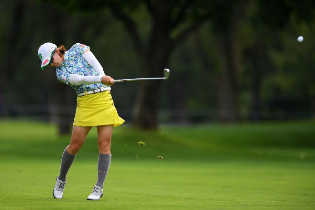 ニトリレディスゴルフトーナメント 最終日 蛭田みな美<Photo:Atsushi tomura/Getty Images>