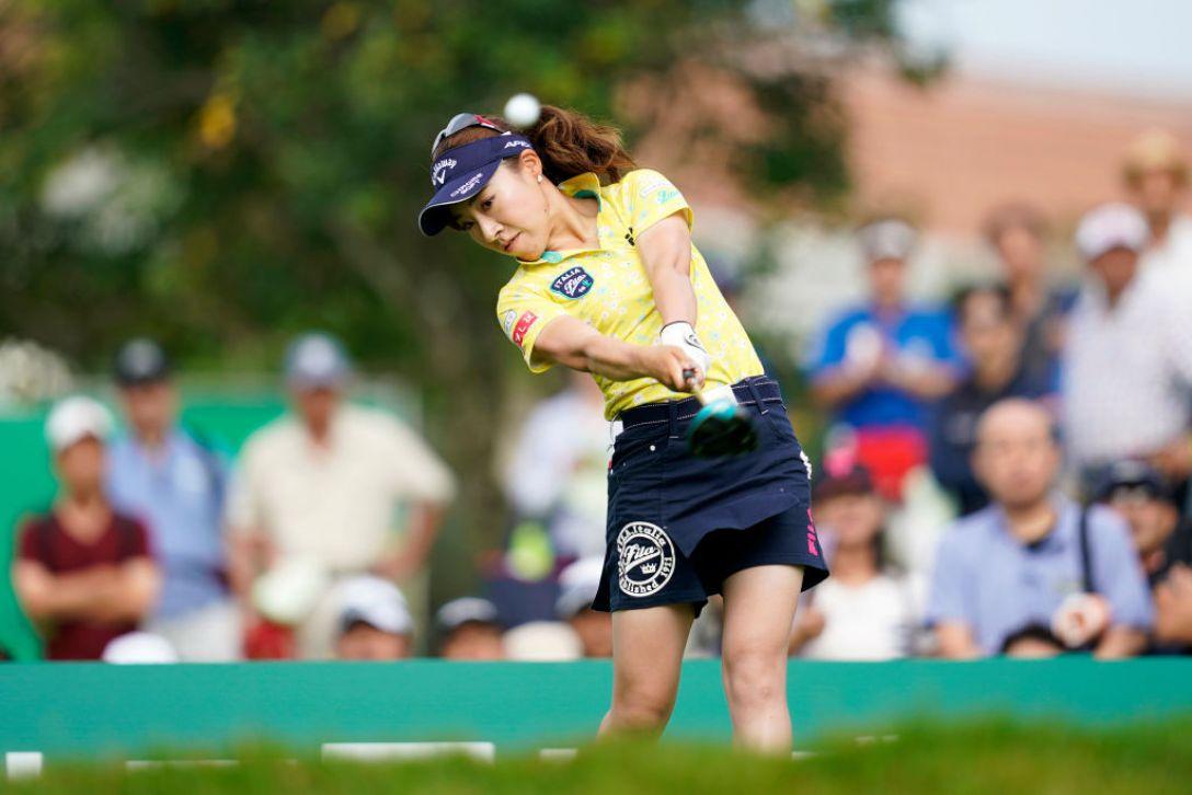 ゴルフ5レディス プロゴルフトーナメント 第1日 木村彩子<Photo:Toru Hanai/Getty Images>