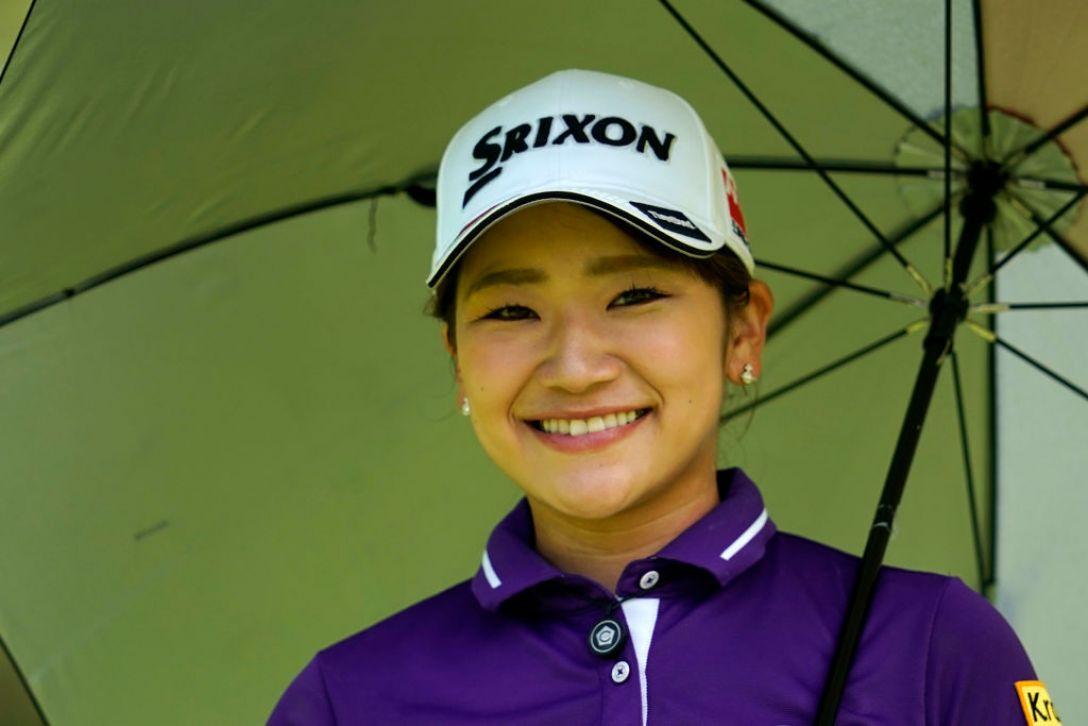 ゴルフ5レディス プロゴルフトーナメント 第1日 安田彩乃<Photo:Toru Hanai/Getty Images>