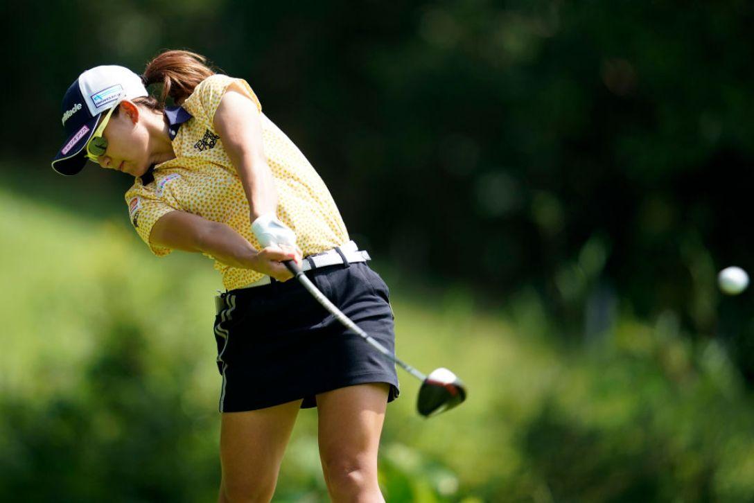 ゴルフ5レディス プロゴルフトーナメント 第1日 吉野茜 <Photo:Toru Hanai/Getty Images>