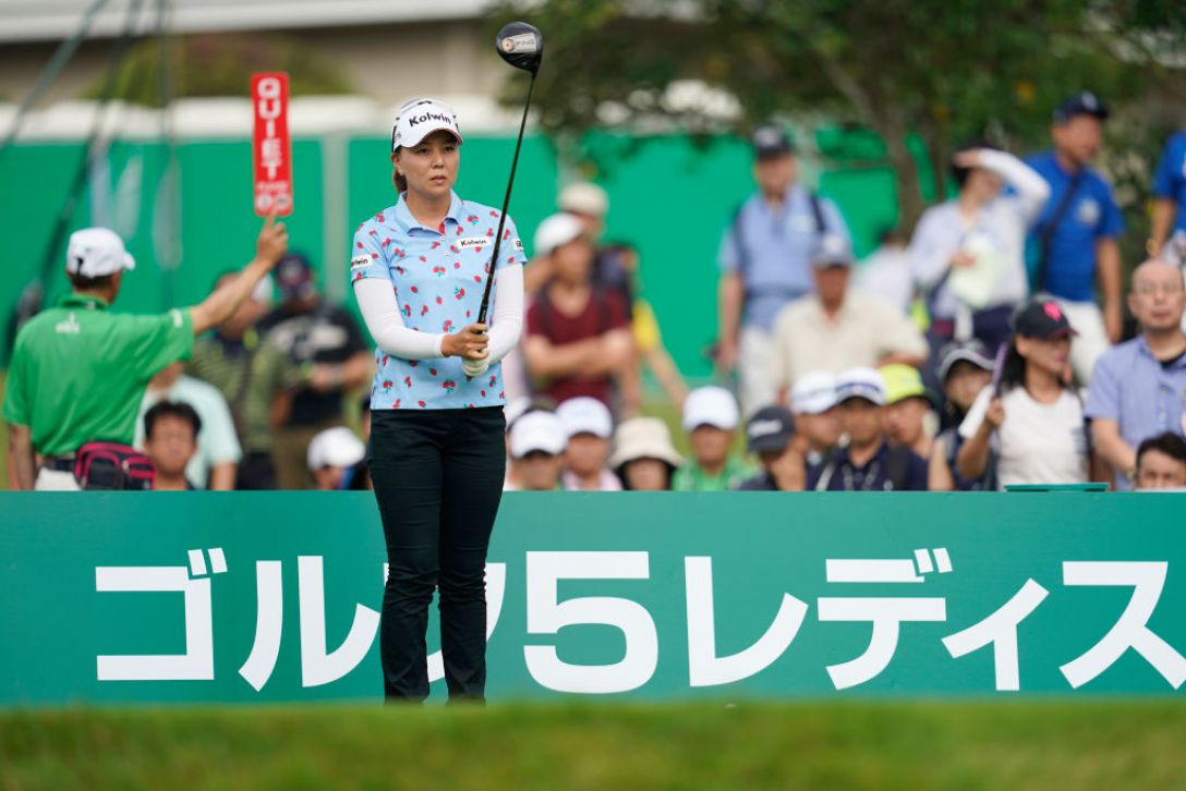 ゴルフ5レディス プロゴルフトーナメント 第1日 上原美希<Photo:Toru Hanai/Getty Images>