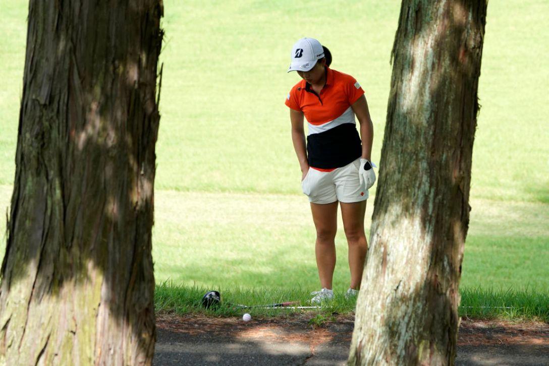 ゴルフ5レディス プロゴルフトーナメント 第1日 丹萌乃 <Photo:Toru Hanai/Getty Images>