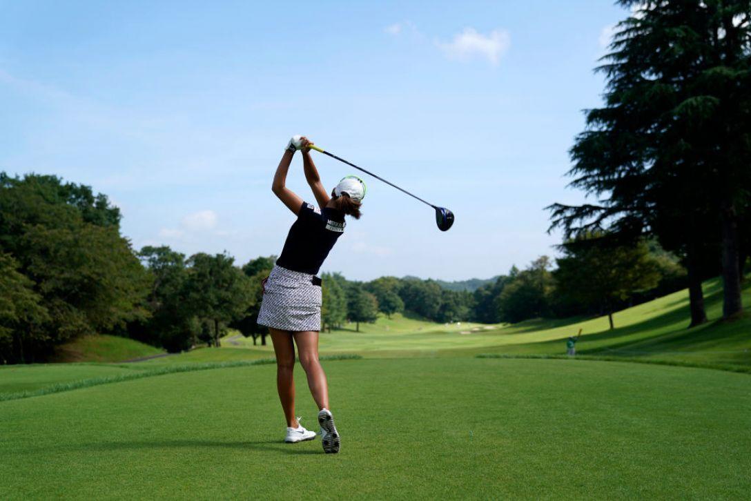 ゴルフ5レディス プロゴルフトーナメント 第1日 木戸愛 <Photo:Toru Hanai/Getty Images>