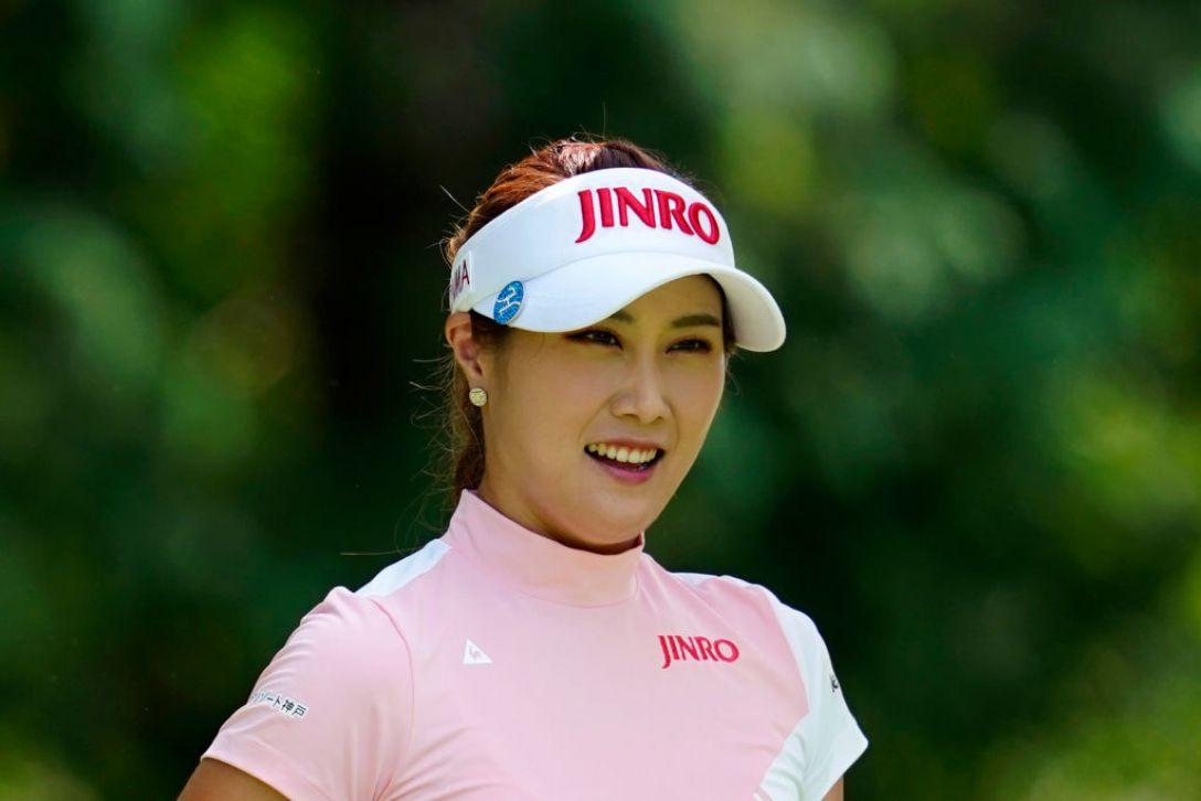 ゴルフ5レディス プロゴルフトーナメント 第1日 キムハヌル <Photo:Toru Hanai/Getty Images>
