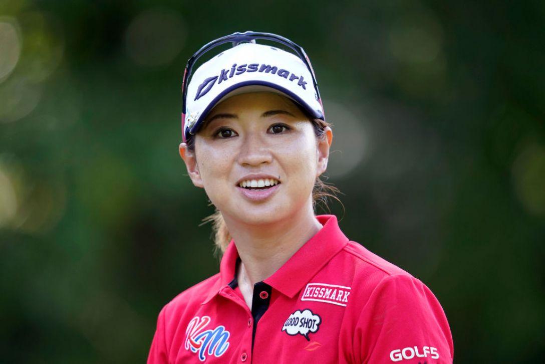 ゴルフ5レディス プロゴルフトーナメント 第2日 川満陽香理 <Photo:Toru Hanai/Getty Images>