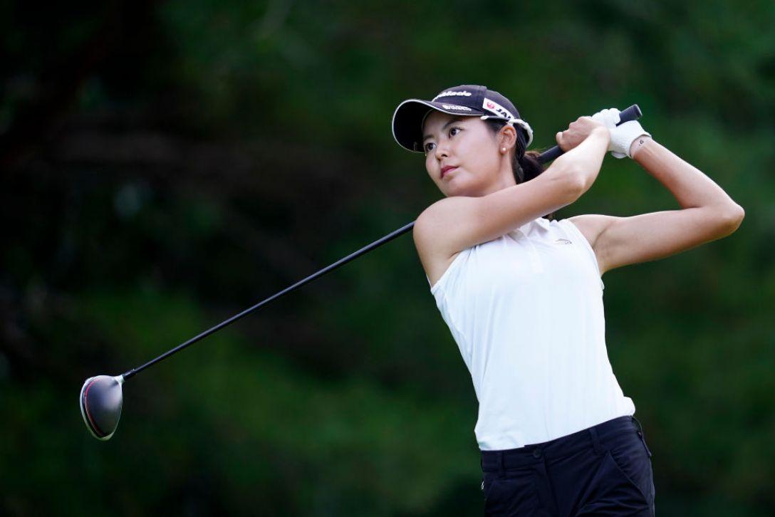 ゴルフ5レディス プロゴルフトーナメント 第2日 松森彩夏 <Photo:Toru Hanai/Getty Images>
