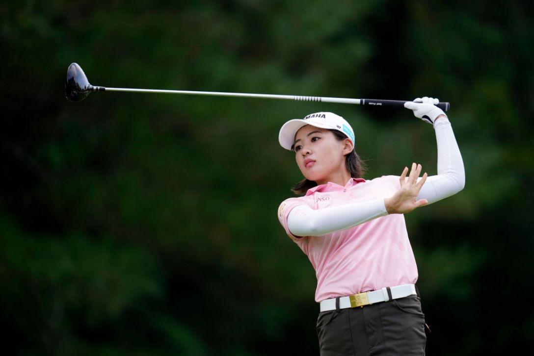ゴルフ5レディス プロゴルフトーナメント 第2日 永井花奈 <Photo:Toru Hanai/Getty Images>