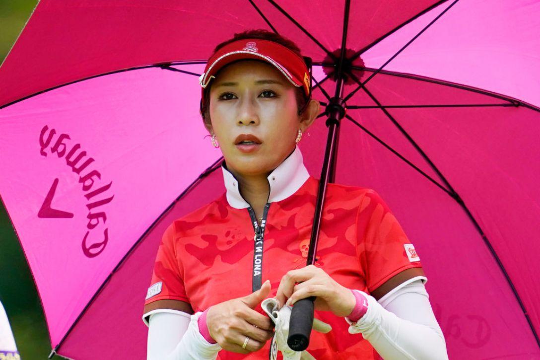 ゴルフ5レディス プロゴルフトーナメント 第2日 金田久美子 <Photo:Toru Hanai/Getty Images>