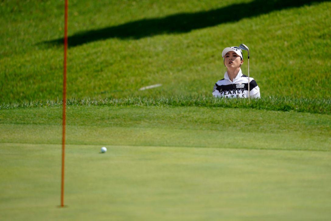 ゴルフ5レディス プロゴルフトーナメント 第2日 ユンチェヨン <Photo:Toru Hanai/Getty Images>