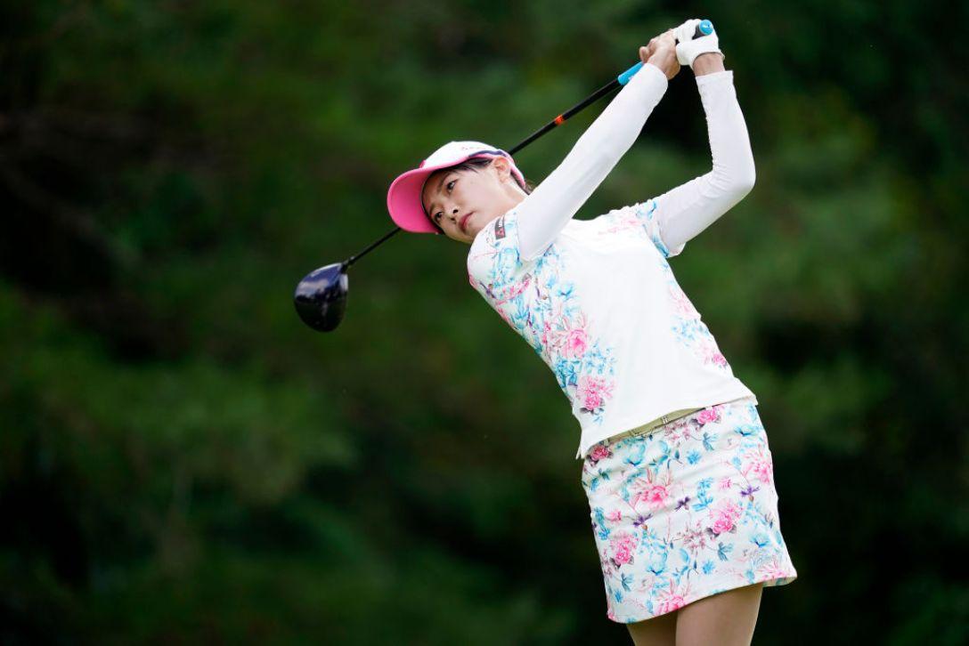 ゴルフ5レディス プロゴルフトーナメント 第2日 川﨑志穂 <Photo:Toru Hanai/Getty Images>