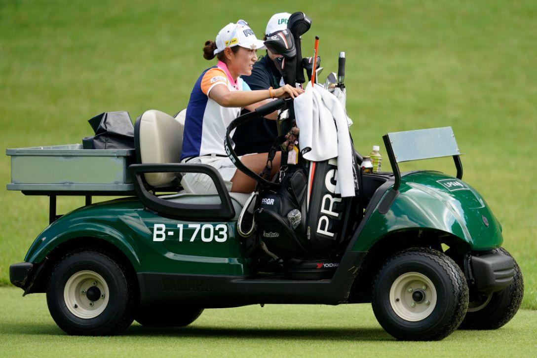 ゴルフ5レディス プロゴルフトーナメント 第2日 藤本麻子 <Photo:Toru Hanai/Getty Images>